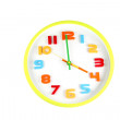 Colorful clock in telling time of four o'clock. — Stock Photo #41993341