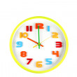Colorful clock in telling time of ten o'clock. — Stock Photo #41993433