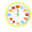 Colorful clock in telling time of Twelve o'clock. — Stock Photo #41993445