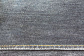 Texture of black jeans. — 图库照片