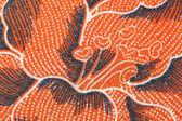 Patrón de flor tailandesa batik pareo. — Foto de Stock