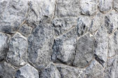 Stone wall texture of arrangement stacked. — Stock Photo