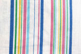 Striped of shirt with many colored lines. — Stock Photo