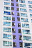 Condominium of modern building. — Stock Photo