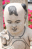 Enfants chinois de statues. — Photo