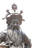 Chinese deity statues. — Stock Photo