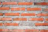 Surface of brick wall. — Stok fotoğraf