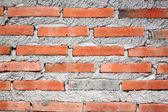 Surface of brick wall. — Foto de Stock