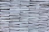 Texture of white masonry of bricks — Stock Photo
