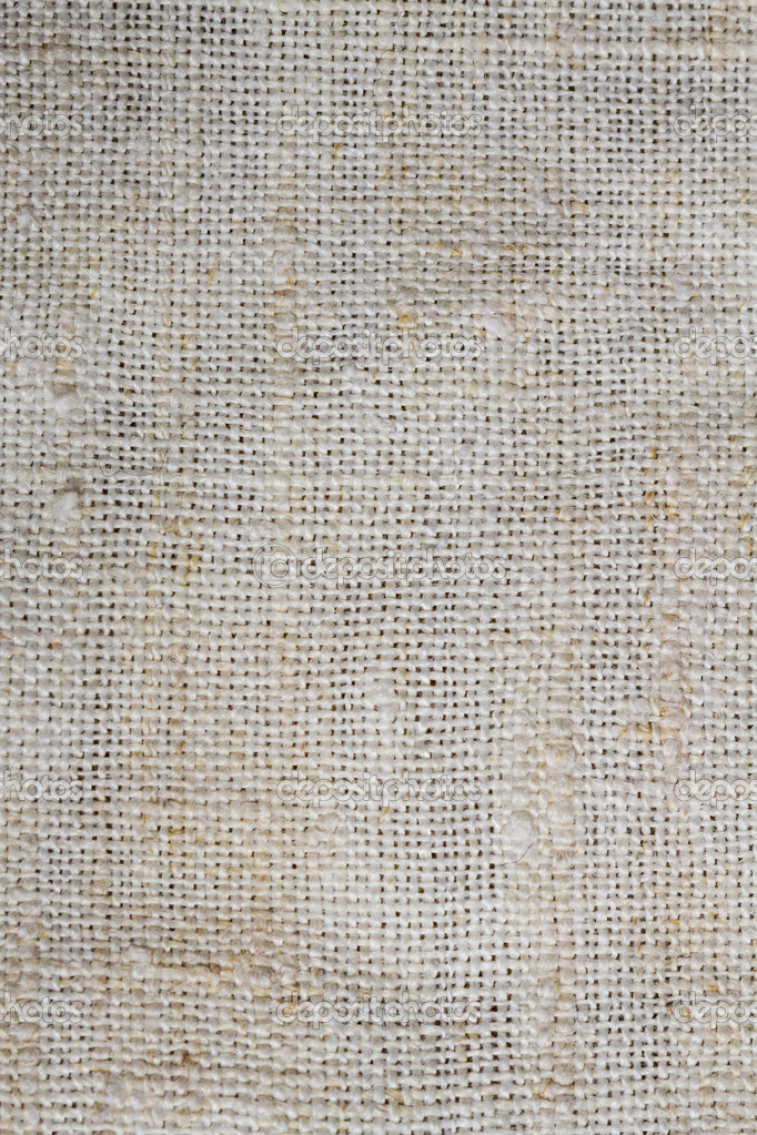 light and smooth texture of burlap in high definition
