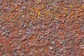 Texture red stripe rust in high definition — Stock Photo