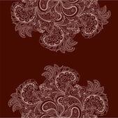 Vector vintage floral pattern — Stok Vektör