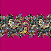 Vector vintage floral pattern — Vector de stock