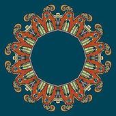 Circular ornament vector design — Stock Vector