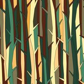 Trees pattern, background color variation — Stock Vector