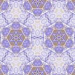 sömlös abstrakt mönster med Marina invånare — Stockvektor