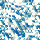 Retro abstract pattern with triangles — Stock Vector