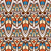 American Indian seamless pattern — Stock Vector