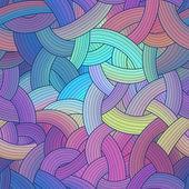 Färgglada ränder sömlös bakgrund, regnbåge — Stockvektor