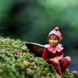Stock Photo: Elf statue 01