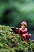 Elf statue 01 — Stock Photo