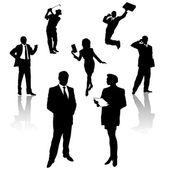 Business people — Stockvector