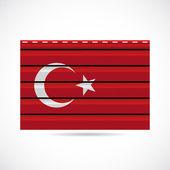 Turkiet siding producerar företaget ikonen — Stockvektor