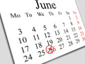 June 2013 - day of fight against drug addiction 2 — Stock Photo