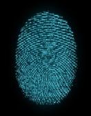 Digital fingerprint — Stock Photo