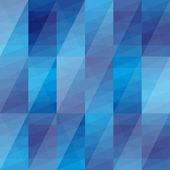 Triángulos abstractos azul fondo — Vector de stock