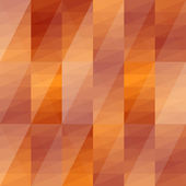 Abstract triangles orange background — Stock Vector