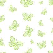 Resumen de patrones sin fisuras con mariposas — Vector de stock