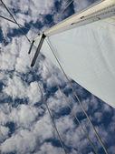 Żeglarstwo z chmury — Zdjęcie stockowe