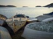 Barcos abandonados — Foto de Stock