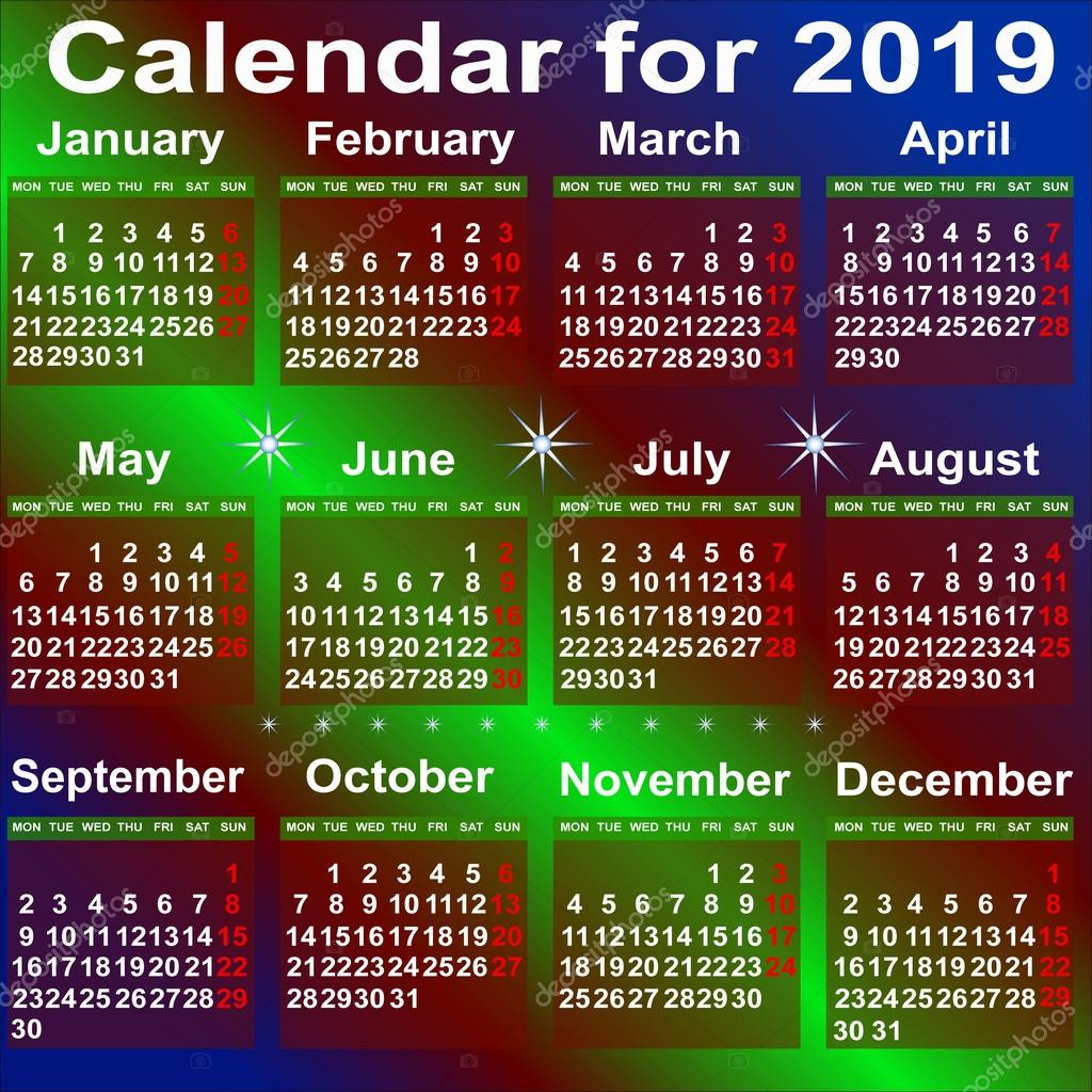 kalender-365.eu 2019