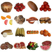 Collection is Food. — Stock Photo