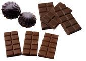 チョコレートの棒. — ストック写真