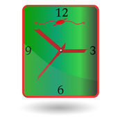 Wall clock. — Stock Vector