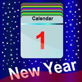 Calendar. — Stockvector