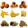 Fruits collection. — Foto Stock