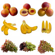 Fruits collection. — Foto de Stock