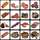 Assortment of Sausage. — Stock Photo