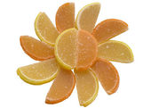 Citrus fruit jelly. — Stock Photo