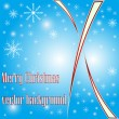 Elegant Merry Christmas vector background. — Stock Vector
