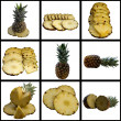 Ripe Fresh Sweet Pineapple. — Stock Photo #37915873