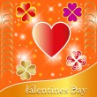 Stock Vector: Valentines Backgrounds.