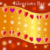 Valentines Backgrounds. — Stock Vector