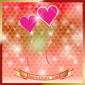 Happy St. Valentine's Day. — Stock Vector