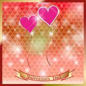 Happy St. Valentine's Day. — Stock Vector