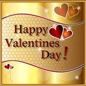 Happy valentines day. — Stock Vector